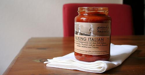 Ohne Zusätze: hausgemachte Tomatensaucen von pront´a tavola