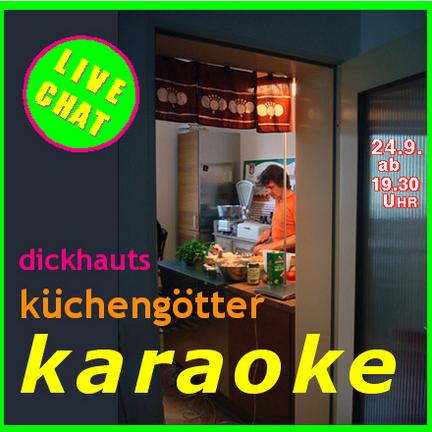 Küchengötter-Karaoke:Live-Kochen am Computer