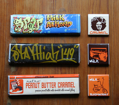 Retro-Chocolate Greetings from New York