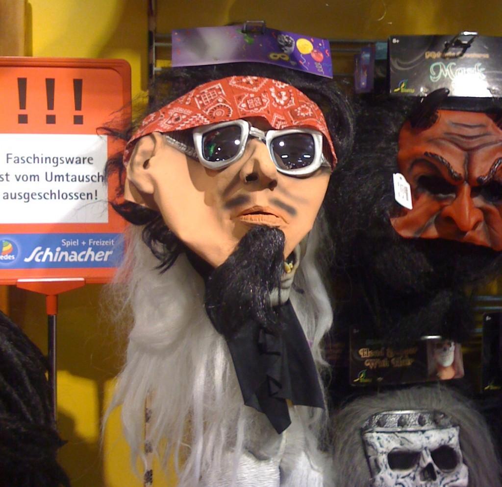 Fundstück der Woche: Die Marquard-Maske