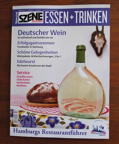 Szene Hamburg Essen + Trinken jetzt am Kiosk (mit erster Buchkritik!)