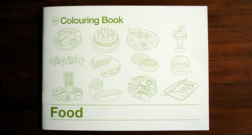 Kulinarisch Kolorieren für Kinder
