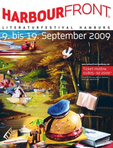 Hellmuth Karasek, Tatortkommissar Deininger und ich auf dem Harbourfront Literaturfestival