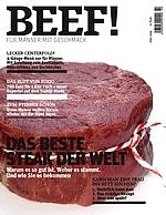 BEEF! Das neue G+J Foodmagazin für Männer gibt online erste Einblicke