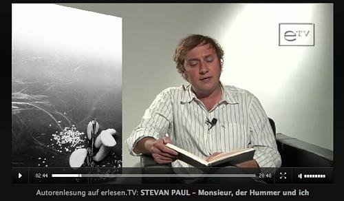 Ich bekochte Wolfram Siebeck – Lesung auf erlesen.tv und ein Radiotipp