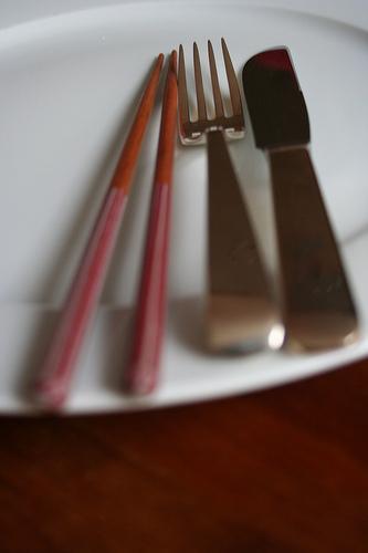 Grenzen der Gastfreundschaft: die Sushi-Frage