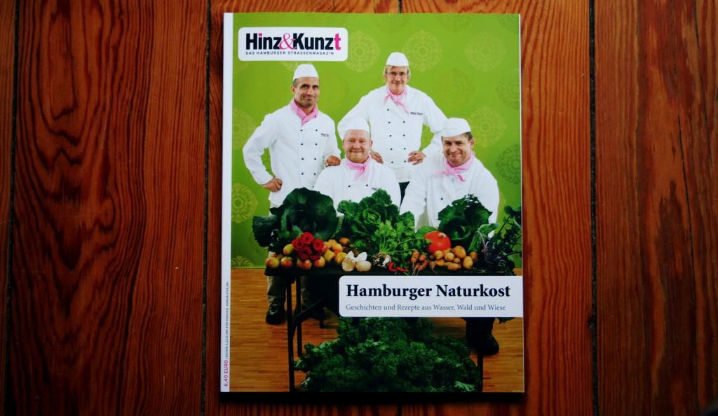 """Jetzt auf der Strasse: das Hinz&Kunzt Sonderheft """"Hamburger Naturkost"""""""