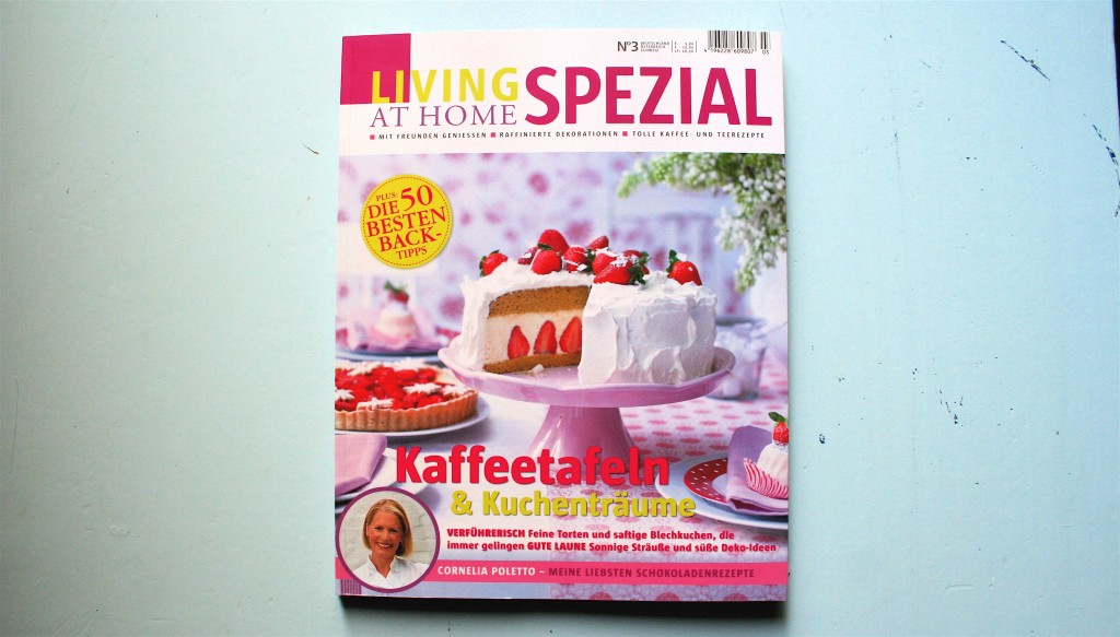 """Jetzt am Kiosk: Living at home Spezial """"Kaffeetafeln & Kuchenträume"""""""