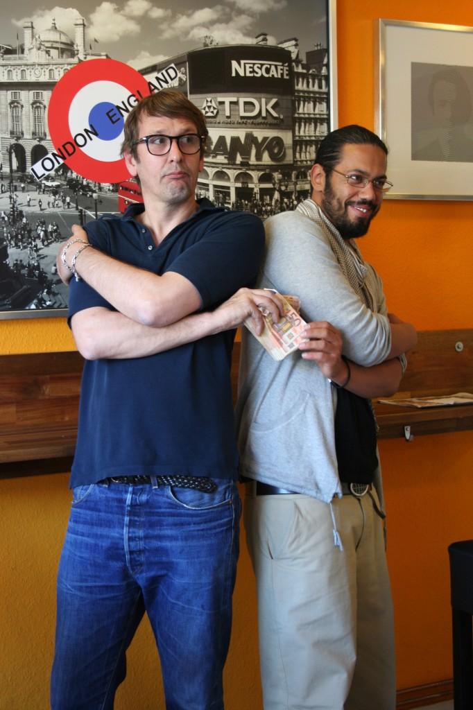 Auf ne Currywurst mit Daniel Richter und Samy Deluxe