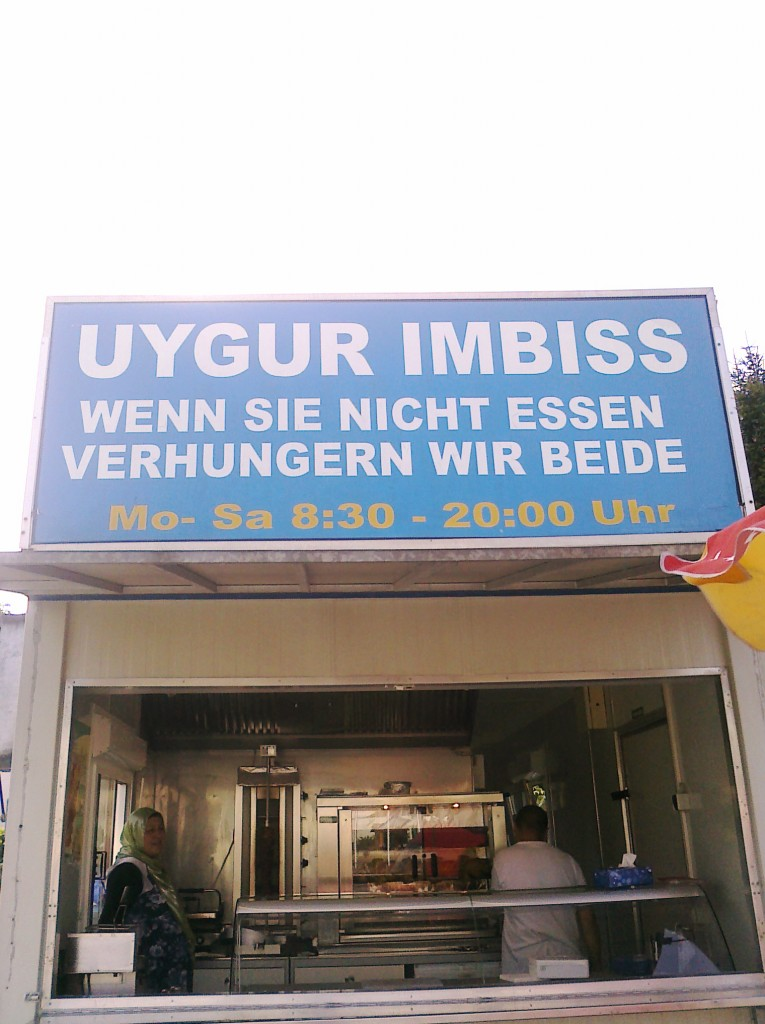 Fundstück der Woche: Rettet die Uygurs!