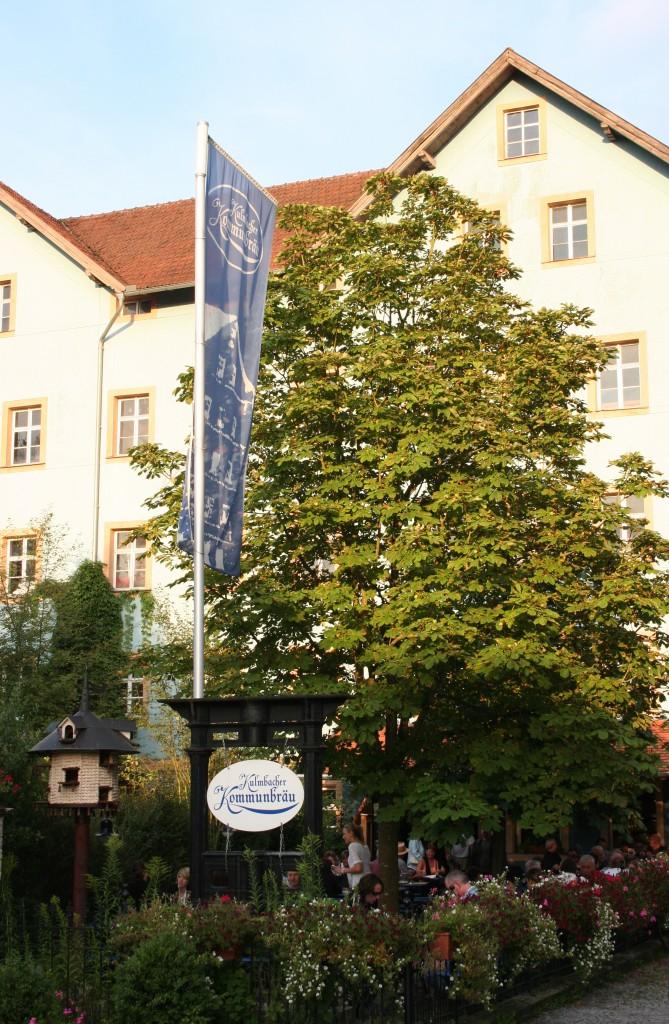 Biergartenglückseligkeit: zwei Abende im Brauerei-Wirtshaus Kulmbacher Kommunbräu