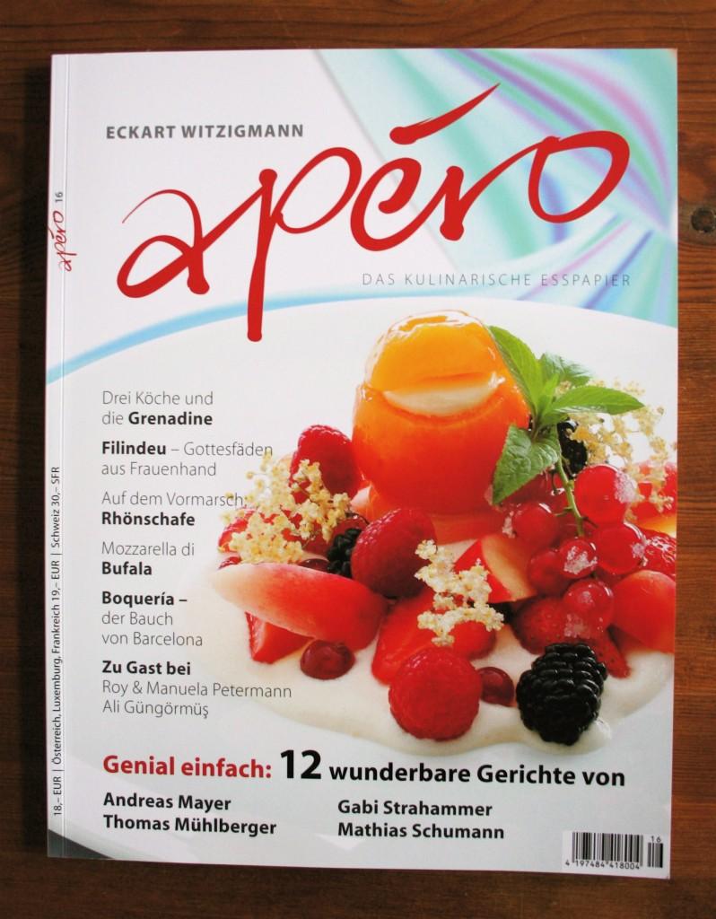 """Jetzt am Kiosk: """"apéro"""" und """"Effilee"""""""