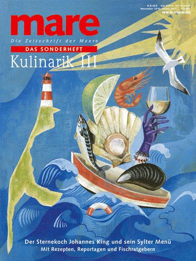 Jetzt am Kiosk: mare Sonderheft Kulinarik III