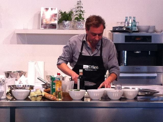 Schnelle Teller auf der Frankfurter Buchmesse