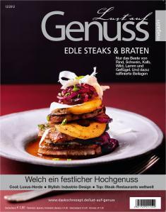 """Neu: Lust auf Genuss """"Edle Steaks & Braten"""""""