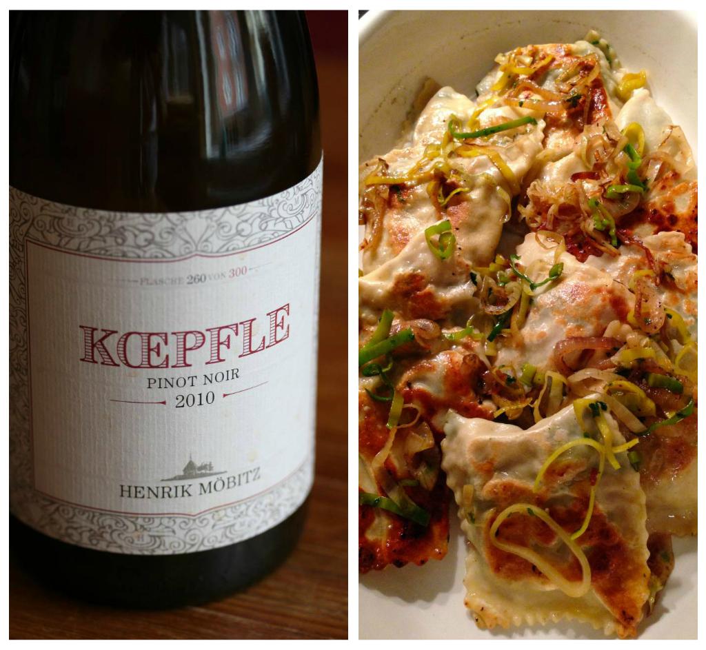 Neue Serie: Wein & Küche (1): Henrik Möbitz und die Maultaschen