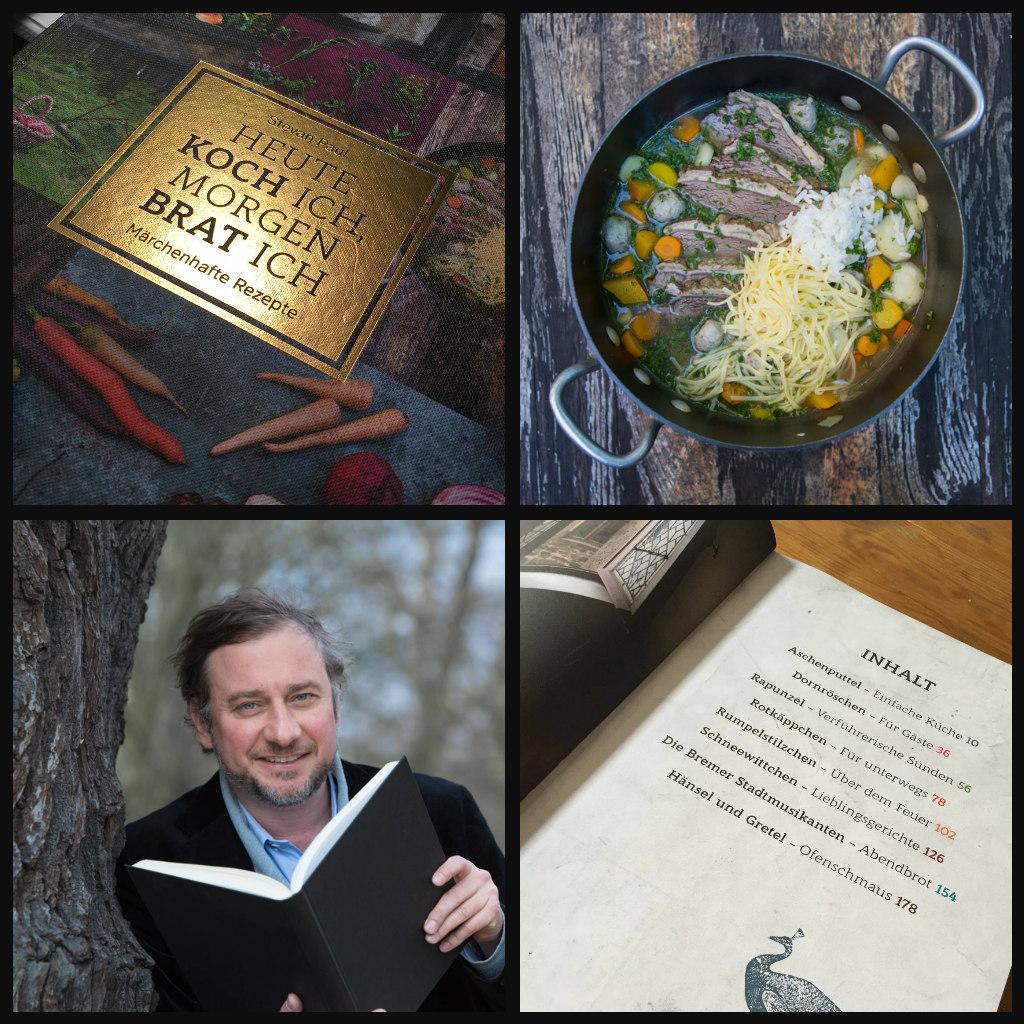 """""""Heute koch ich, morgen brat ich"""" – wie mein neues, märchenhaftes Koch- und (Vor-) Lese-Buch in die Welt kam"""
