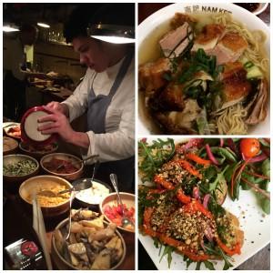 Amsterdam (3): Frühstück, Chinatown und Wurst und Wein