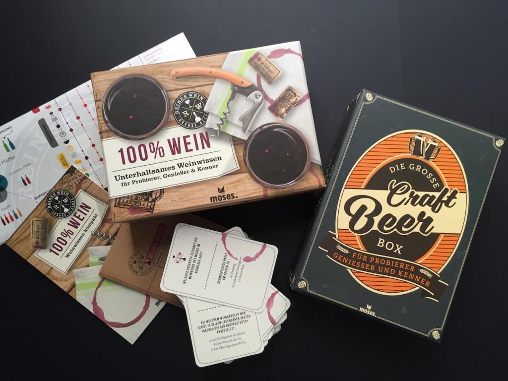 Schöner lernen: zwei neue Quizboxen vermitteln spielend Wein-Wissen und Craft Beer-Schulung
