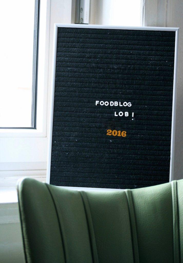 Foodbloglob 2016