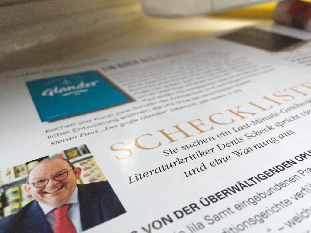 """Denis Scheck über """"Der große Glander"""""""