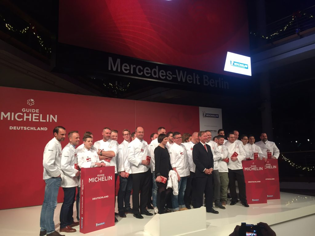 Guide Michelin 2017 – die Gala & ein persönlicher Blick auf die neuen Sterne
