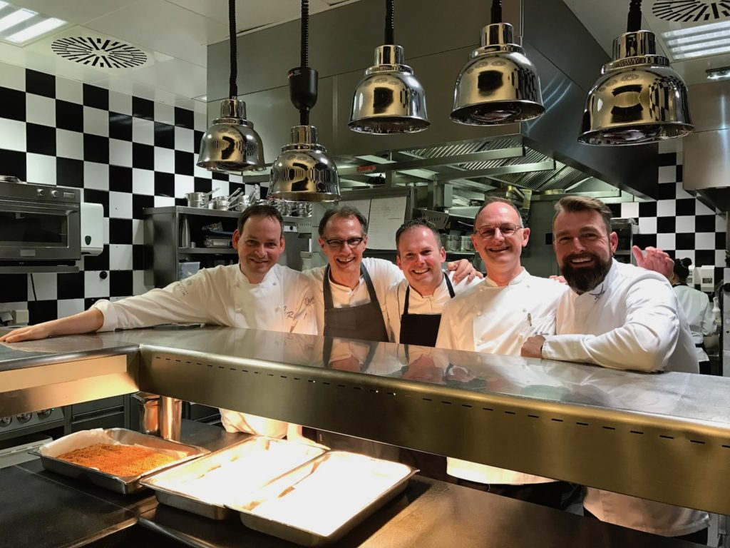 Sylt meets Hamburg – kulinarisches Gipfeltreffen im Jahreszeiten Grill