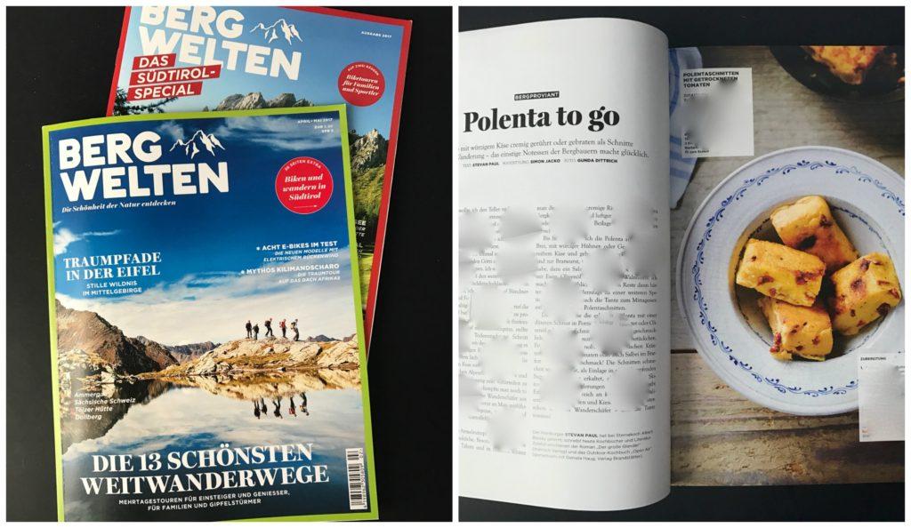 Bergproviant – neue kulinarische Kolumne im Bergwelten-Magazin
