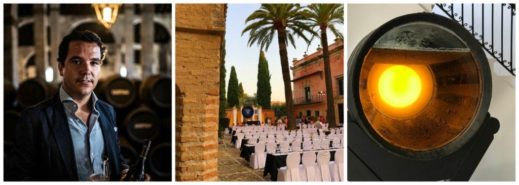 Sherryland – eine Entdeckungsreise (3): Erntedankfest in Jerez, die Bodegas Lusta und Gonzáles-Byass, Tapas-Lunch im Cruz Blanca