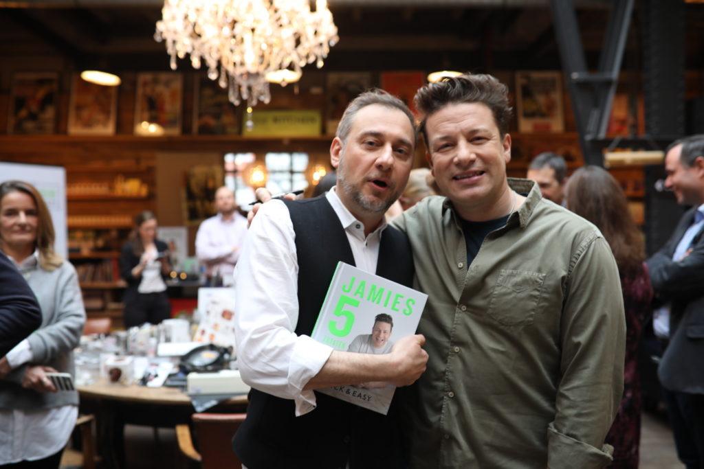 Jamie Oliver: sein neues Buch und ein Besuch in Hamburg