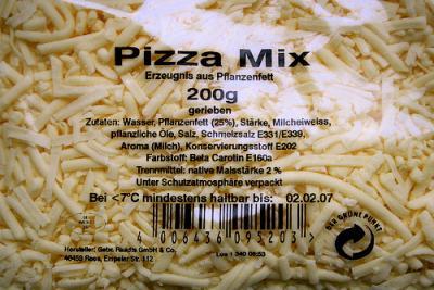 Verbraucherwarnung(1): Käsefreie Käsesimulation