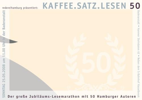 Hamburgs längste Lesung lecker!