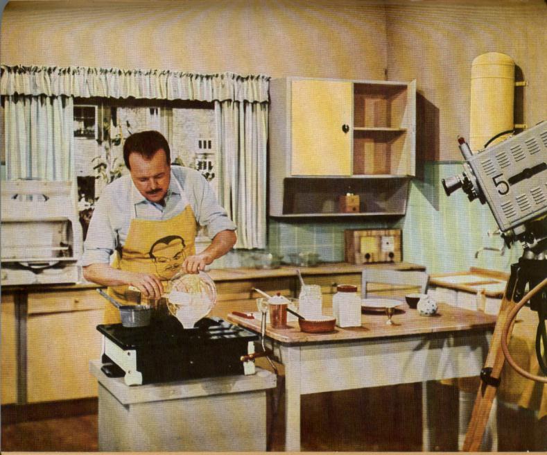 Fundstück der Woche: Clemens Wilmenrod im Original-Kochsendungsmitschnitt von 1961