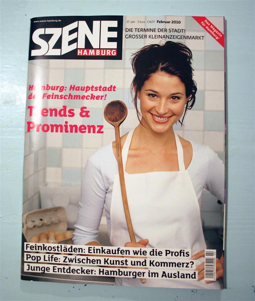 Jetzt am Kiosk: SZENE Hamburg mit appetitlichem Themenschwerpunkt