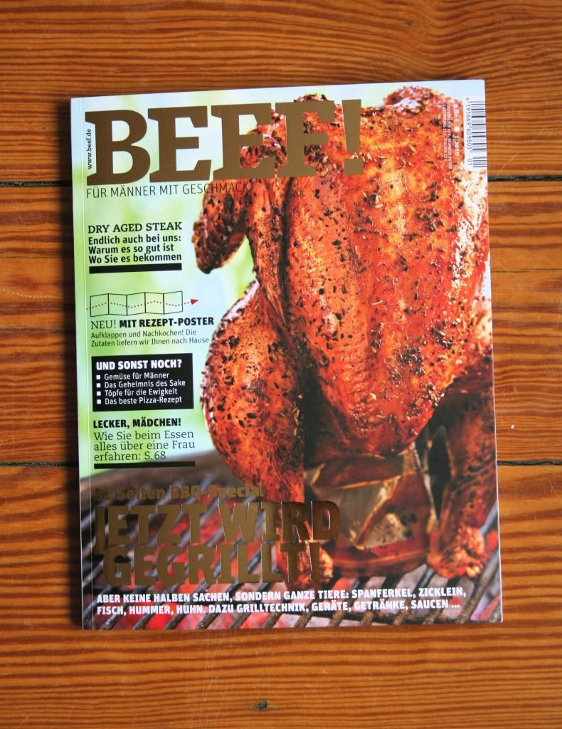 Jetzt am Kiosk: BEEF! – die zweite Ausgabe