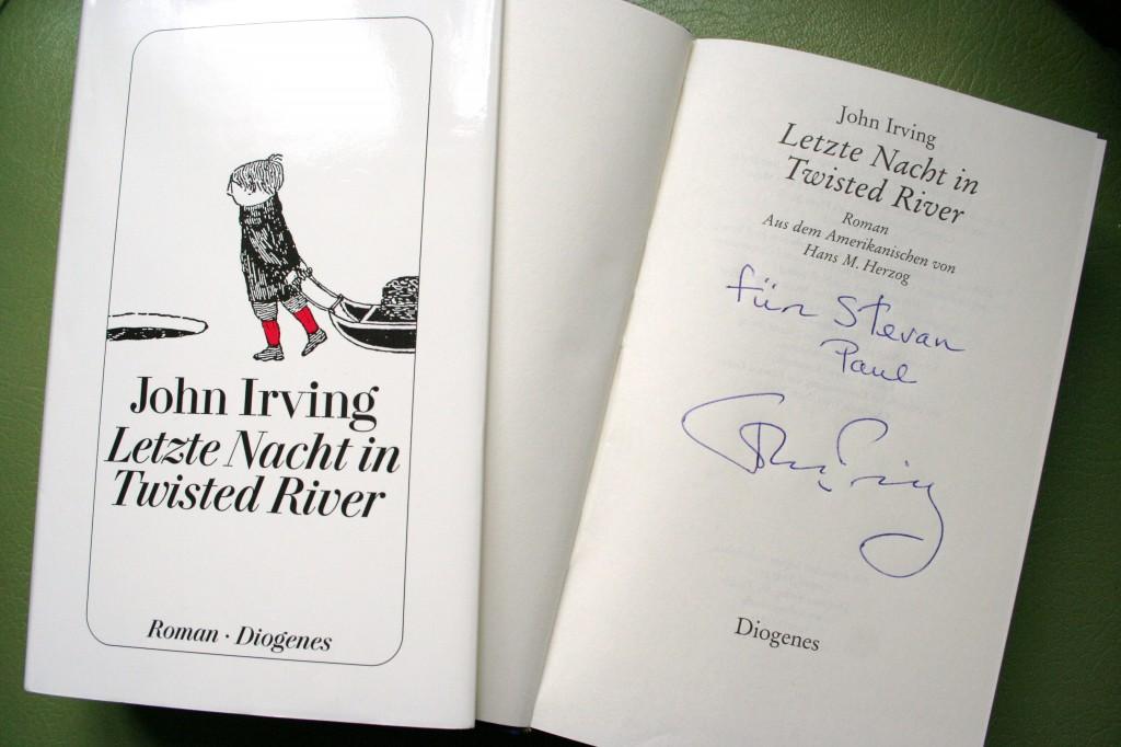 John Irving am Herd – meine Begegnung mit dem Bestsellerautor