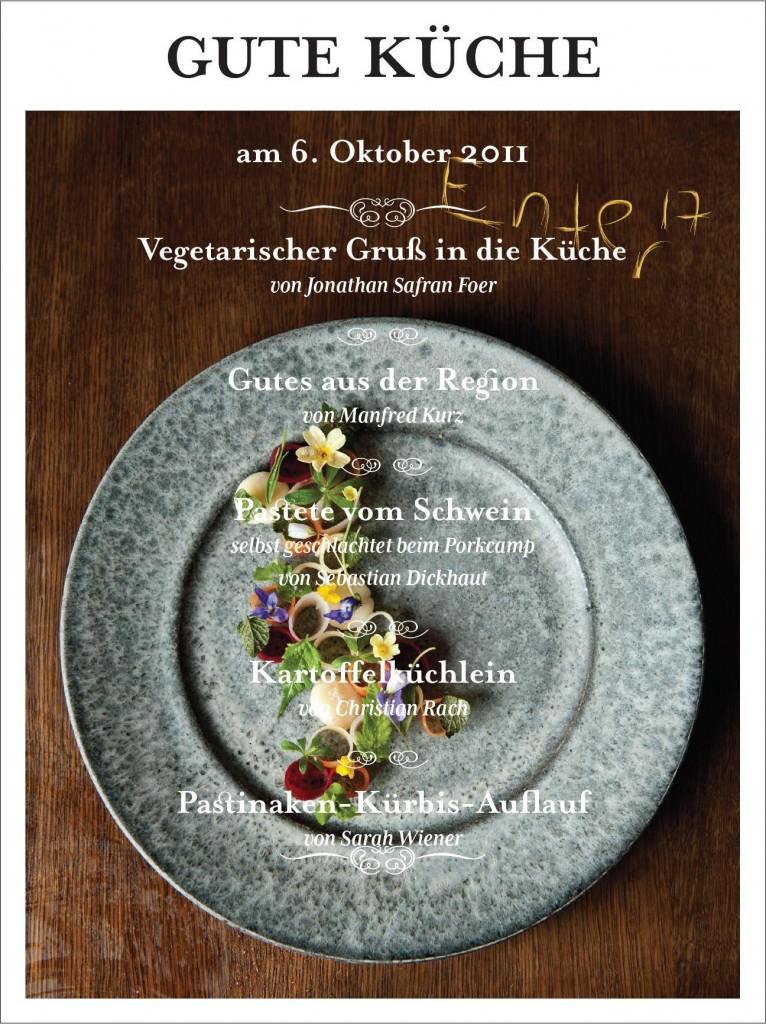 """Jetzt online lesen: Enter- das Engagement Magazin mit """"Gute Küche"""""""