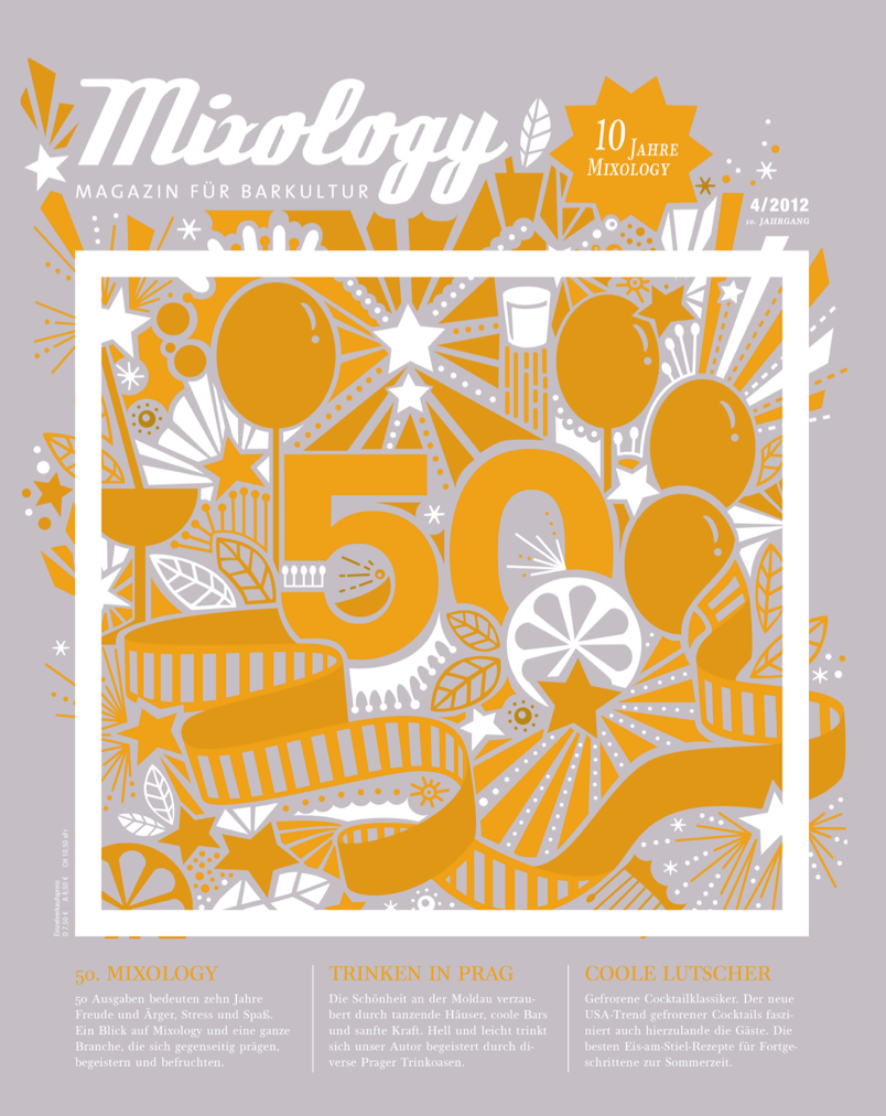 10 Jahre Mixology – das Magazin für Barkultur wird 50!