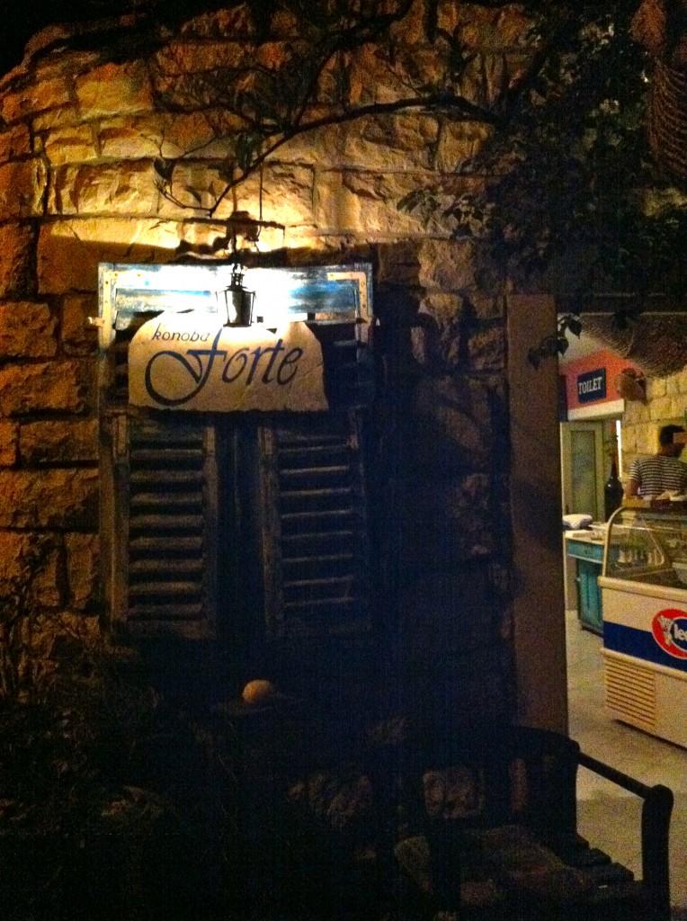 Post aus Kroatien (3): Konoba forte, kroatischer Wein und kleine Fische