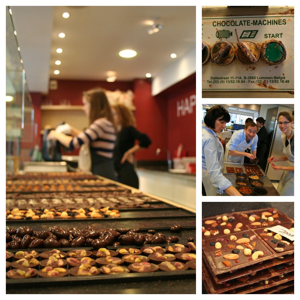Brüssel: Fritten, Bier und Schokolade (3): Waffeln und Meisterschokoladen