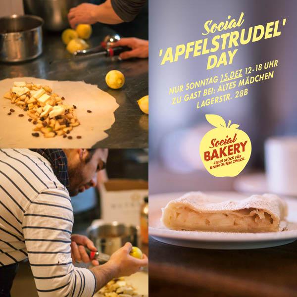 "Social Bakery lädt zum ""Apfelstrudel Day"""