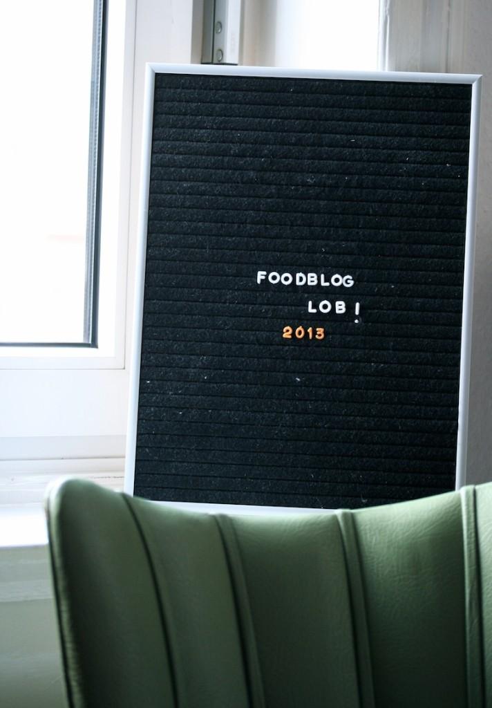 Foodbloglob 2013