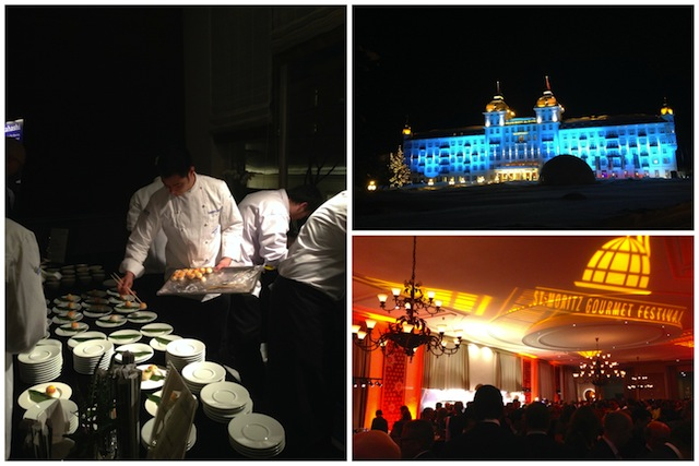 Unterwegs: Grand Opening Gourmet Festivals St. Moritz 2014