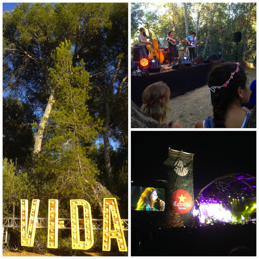 Unterwegs: Samstagnachtfieber (Take the long way home), La Vida Festival 2014, Catalunya, Spain