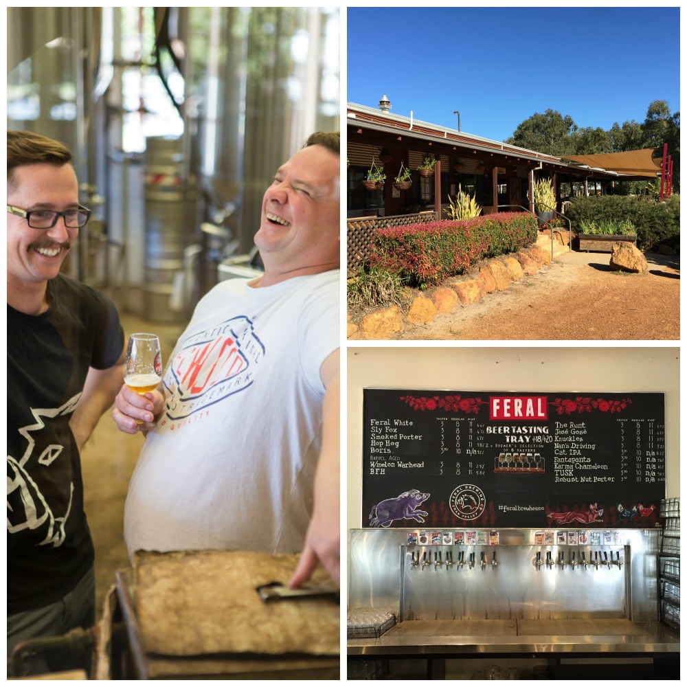 "Australien (2): ""Good fun – that's what Craftbeer-Brewing is all about."" – Besuch der Feral Brewery"
