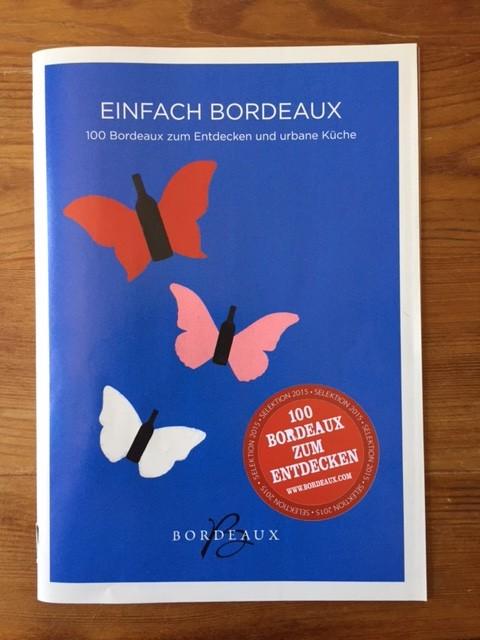 Bordeaux Wein-Rezepte: das neue Booklet jetzt als freier Download