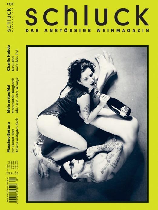 """schluck – Das """"anstössige"""" Weinmagazin ist da!"""