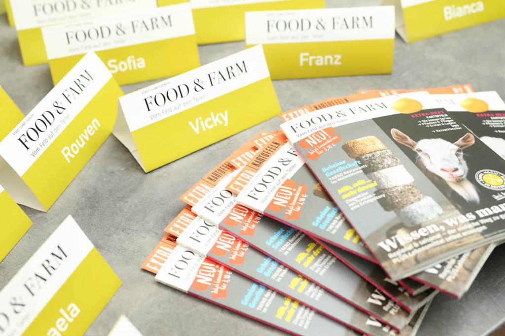 """Neues Magazin: Food&Farm – vom Feld auf den Teller! (""""Mag ich, mach ich."""")"""