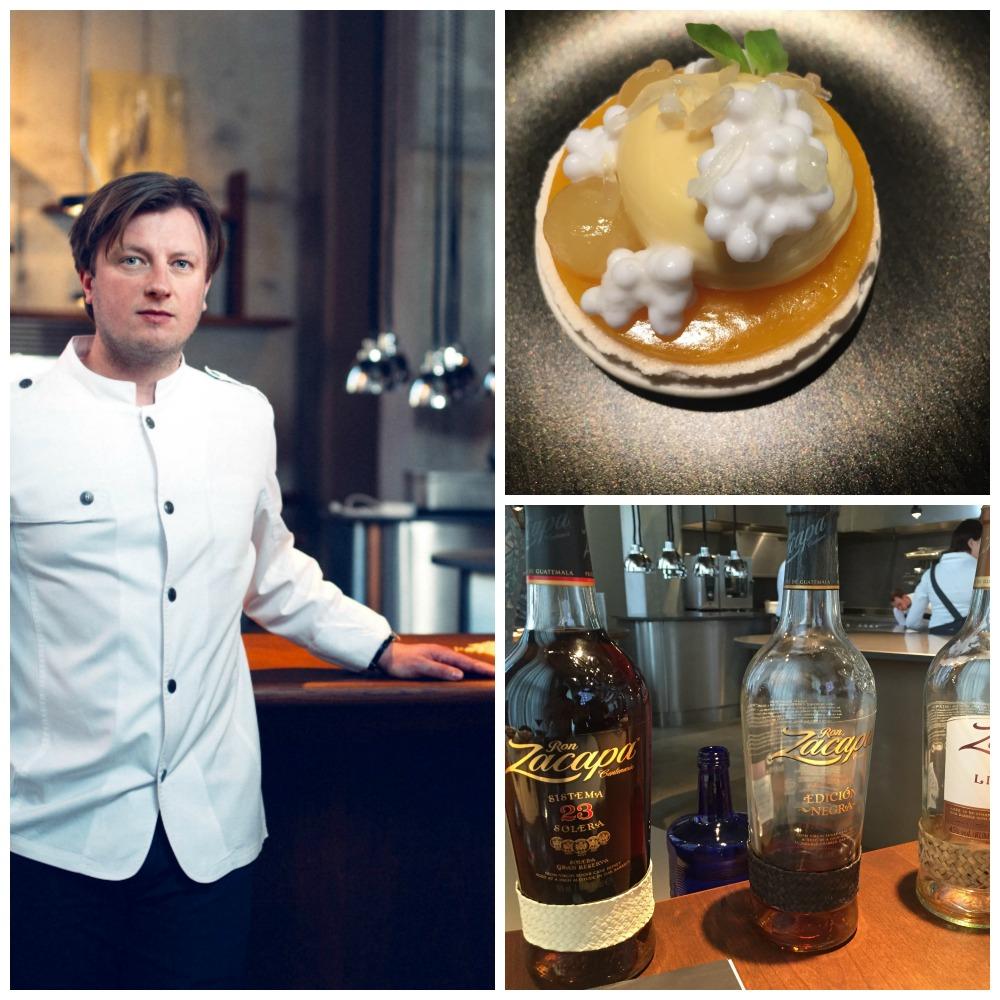 Zacapa Art of slow@The Table: vier Gänge mit Rum von Kevin Fehling