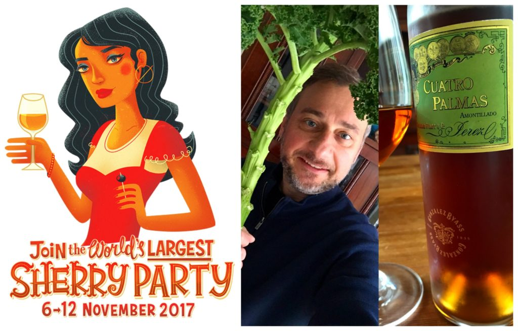 Grünkohl, Dashi, Cuatro Palmas – mein Wettbewerbsbeitrag  zur Sherryweek 2017!